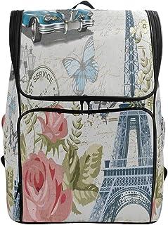 b29434c8c27e Amazon.com: Eiffel Tower - Backpacks / Bags, Cases & Sleeves ...