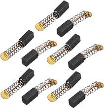 sourcingmap® 5 pares de 9x5x4mm Cepillos de Carbono Herramienta eléctrica para motor de taladro percutor eléctrico