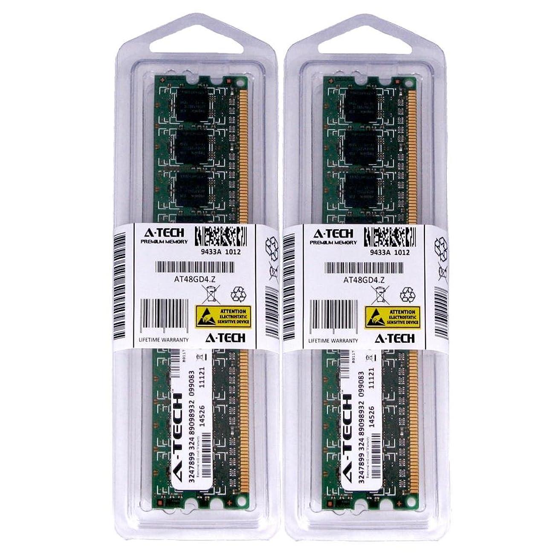 通訳執着キモい4?GBキット( 2?x 2?GB ) for eMachines ETシリーズデスクトップet1331?–?41e et1331?–?45?et1641?et1810?–?01?et1810?–?03?et1831。DIMM ddr2?Non - ECC pc2?–?5300?667?MHz RAMメモリ。A - Techブランド純正。