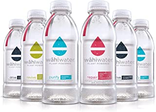 WAHIWATER Variety Pack Repair Revive Drive Purify Enhanced Water with Electrolytes (12-pack VARIETY)