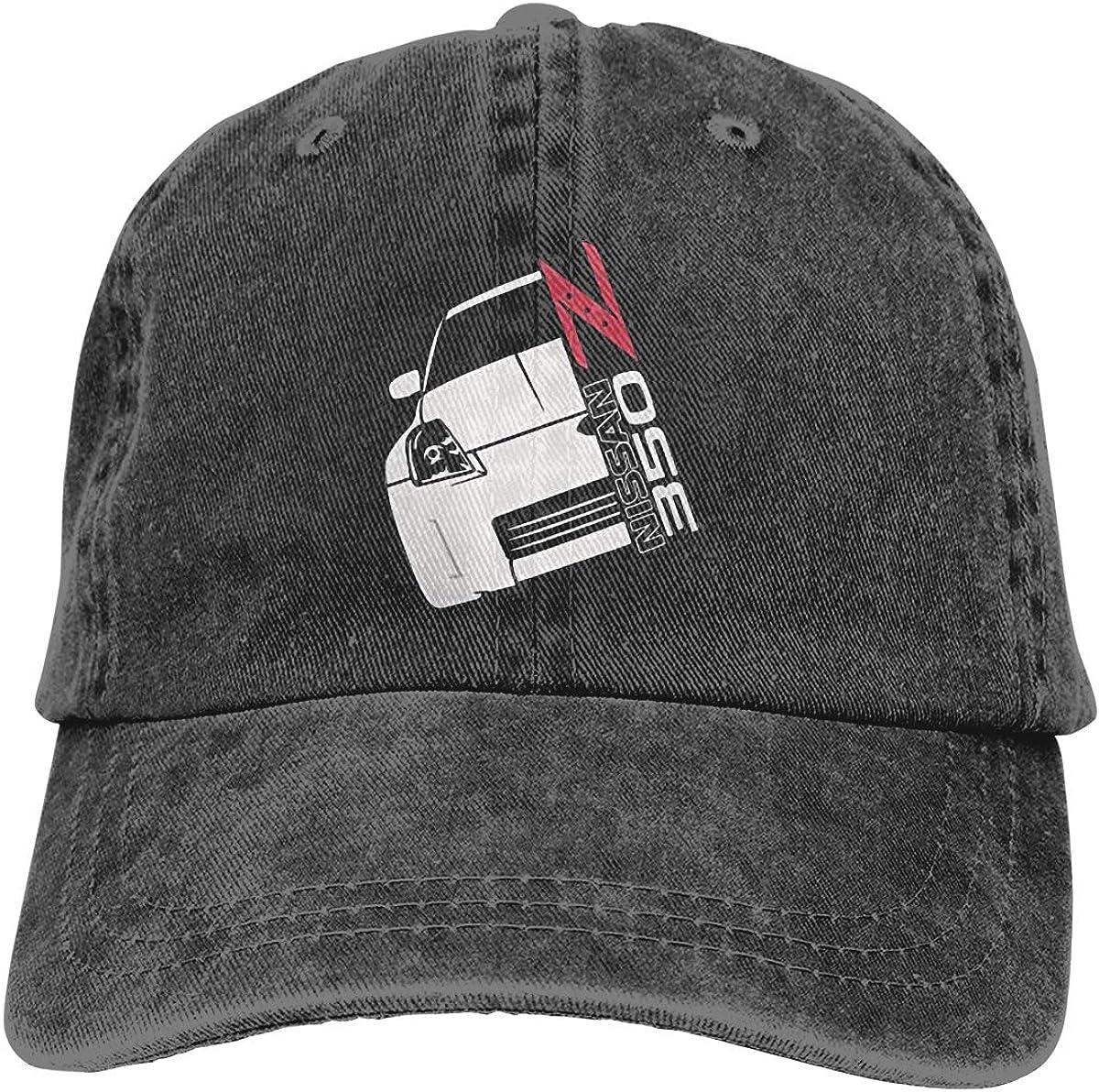 JTSHAAET Nissan 350Z Unisex Adjustable Hat Outdoor Sunscreen Caps