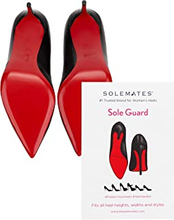 Solemates Sole Guard for Christian Louboutin Shoes (1 Pack) - Sole Sticker Crystal Clear 3M Sole Guard and Sole Protector for Christian Louboutin, Jimmy Choo and Designer Shoes