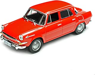 Skoda 1000MB Limousine Hell Blau 1964-1969 706LQ 1//43 Abrex Modell Auto mit oder