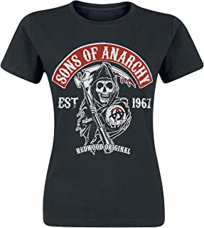 sons of anarchy t shirt female