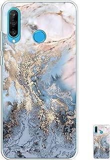 HopMore Marbre Coque pour Huawei P30 Lite Silicone Blanc /Étui Motif Belle Dr/ôle Marble Etui Huawei P30 Lite Souple Antichoc Mince Case Housse Fine pour Femmes Fille Hommes Mandala Noir