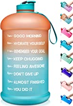 Venture Pal Large 128oz/74oz Leakproof BPA Free Fitness Sports Water Bottle with..