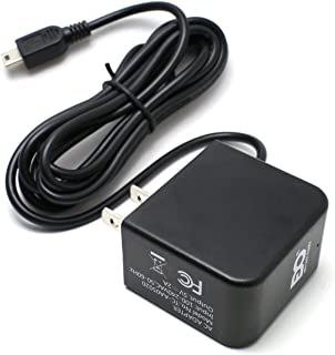 EDO Tech Mini USB AC Adapter Wall Charger Plug for Garmin Nuvi Drive 50 40lm 50lm 52 60 255w 265w 550 620 1300 1350 1450 2577lmt 2599lmt 2597lmt 2589lmt Dezl 570lmt Zumo eTrex Vista Legend Oregon GPS