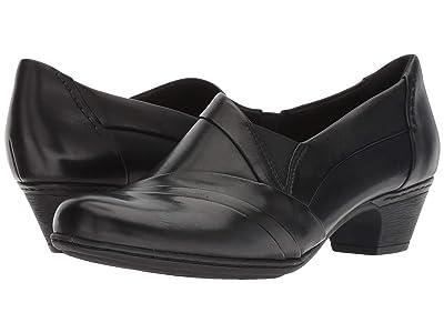 Cobb Hill Cobb Hill Abbott Slip-On (Black Leather) Women