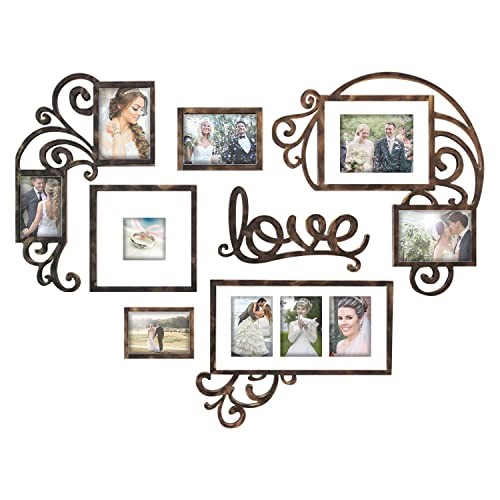 Heart Photo Collage Amazoncom