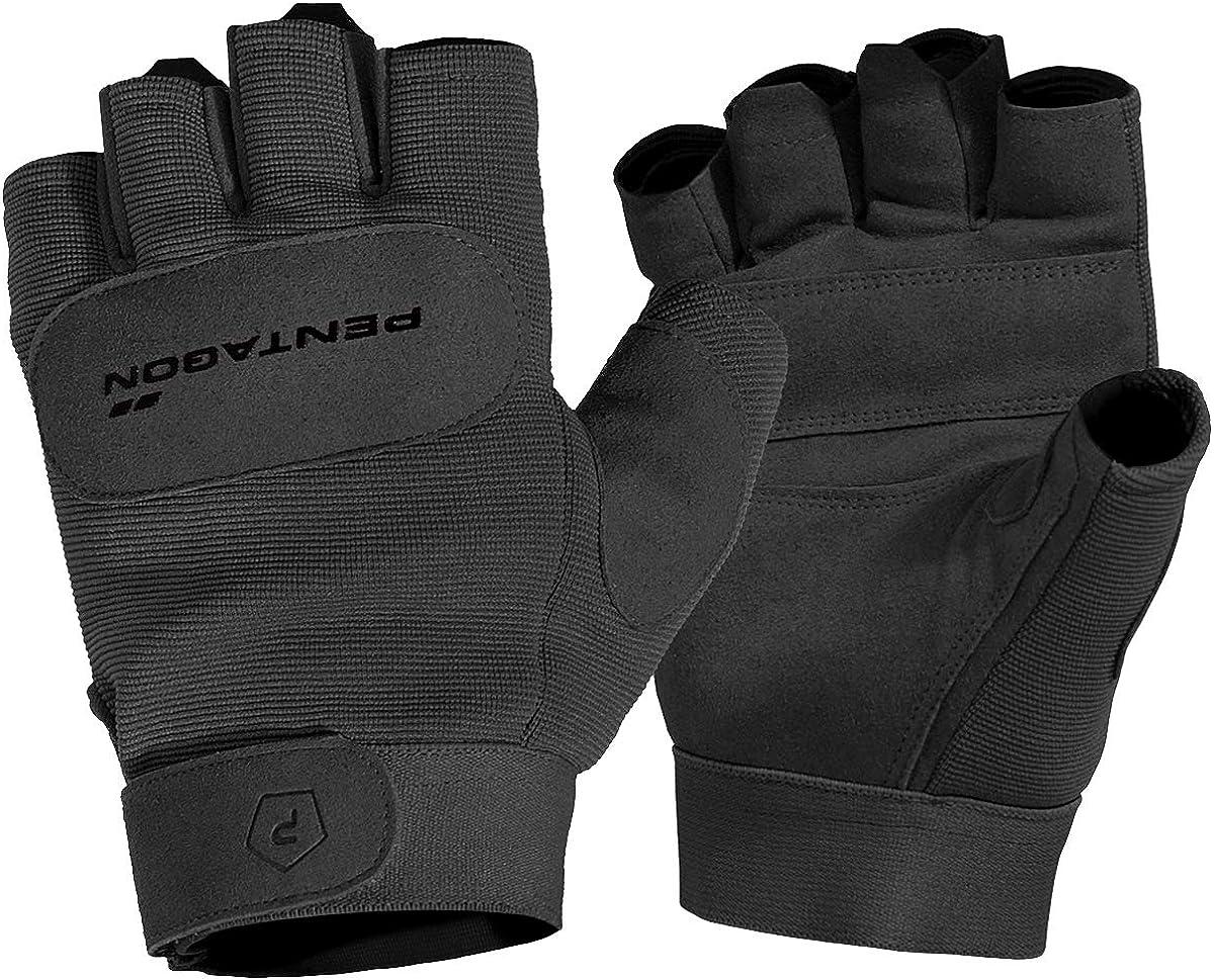 Pentagon Men's 1 2 Gloves Mechanic Duty Black shipfree Max 66% OFF