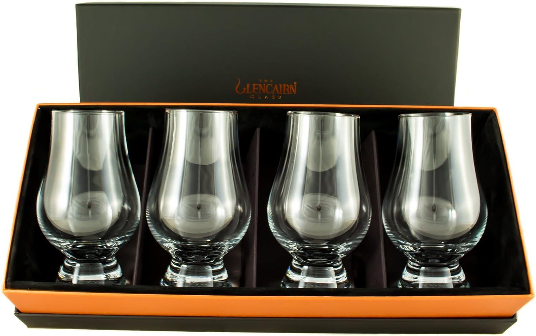 Glencairn - Estuche con 4 vasos para degustación de whisky (170 ml)