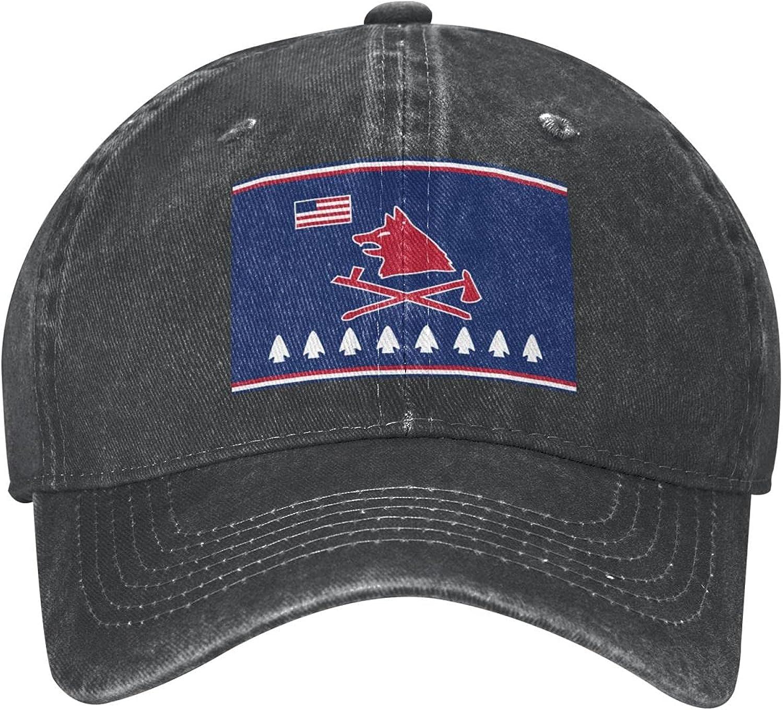 Pawnee Nation Flag Baseball Cap Adjustable Dad Hat Denim Cap for Men and Women