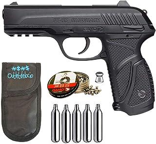 comprar comparacion Outletdelocio. Pack Pistola Perdigón Gamo PT-85 4,5mm Blowback. + Funda + balines + bombonas co2 23054/29318/38203