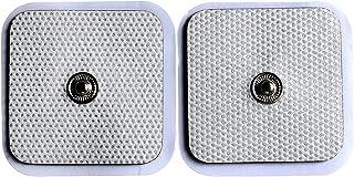 Electrodos Cervicales Facial Gluteos Hombro Manos Rodilla - Self Adhesive Electrodes Masaje Gel Conductor Adhesivos Gelificados, Electrodos Parche De Repuesto Universales20pcs (3.5mm)