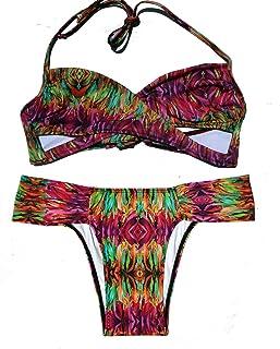 Awa de Sal Brief - Conjunto de Bikini para Mujer (2 Piezas)