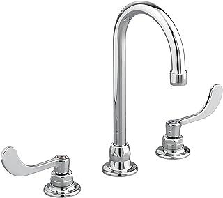 "American Standard 6540270.002 Monterrey 8"" Widespread 5"" Gooseneck Spout Bathroom Faucet with Flexible Under-Body, Polishe..."
