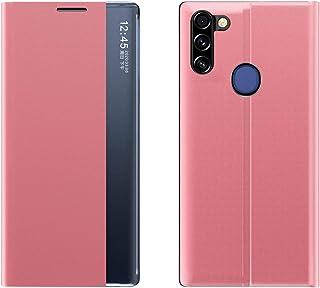 جراب من CASE BOX Side Window Case for Samsung Galaxy A11 جراب هاتف قابل للطي مضاد للسقوط Samsung Galaxy A11 QC2001