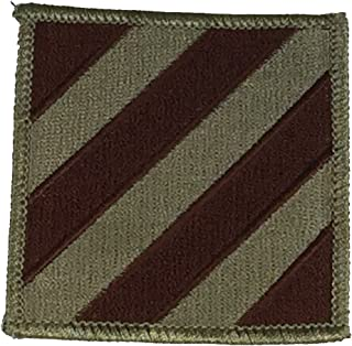 US ARMY 3RD INFANTRY DIVISION UNIT PATCH - Desert/Tan - Veteran Owned Business