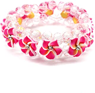 plumeria bracelet
