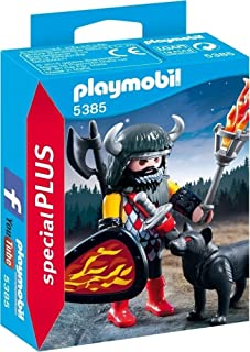 Playmobil Wolf Warrior Playset Toy