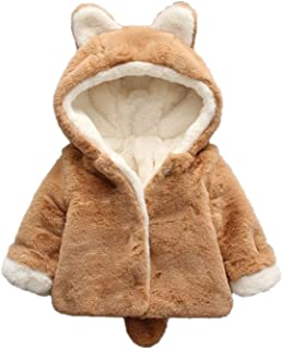 XIRUI Baby Coat Infant Girls Boys Autumn Winter Hooded Coat Cloak Jacket Thick Warm Clothes