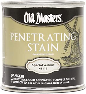 Old Masters 41116 Penetrating Stain, 1/2 Pint, Special Walnut