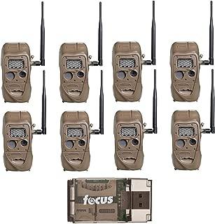 Cuddeback CuddeLink J Series Long Range IR Trail Camera (8 Pack), 20 Megapixels, Built-in Wireless Network