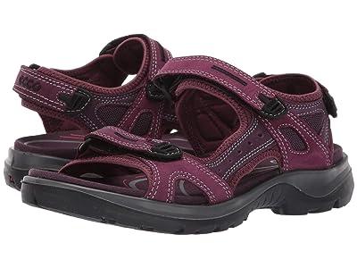 ECCO Sport Yucatan Sandal (Aubergine/Mauve) Women
