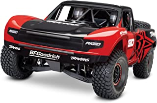 Traxxas Unlimited Desert Racer 4X4 RC Race Truck, Red
