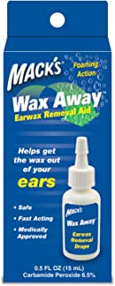 Mack's Wax Away Earwax Removal Aid - 0.5 oz, Pack of 2