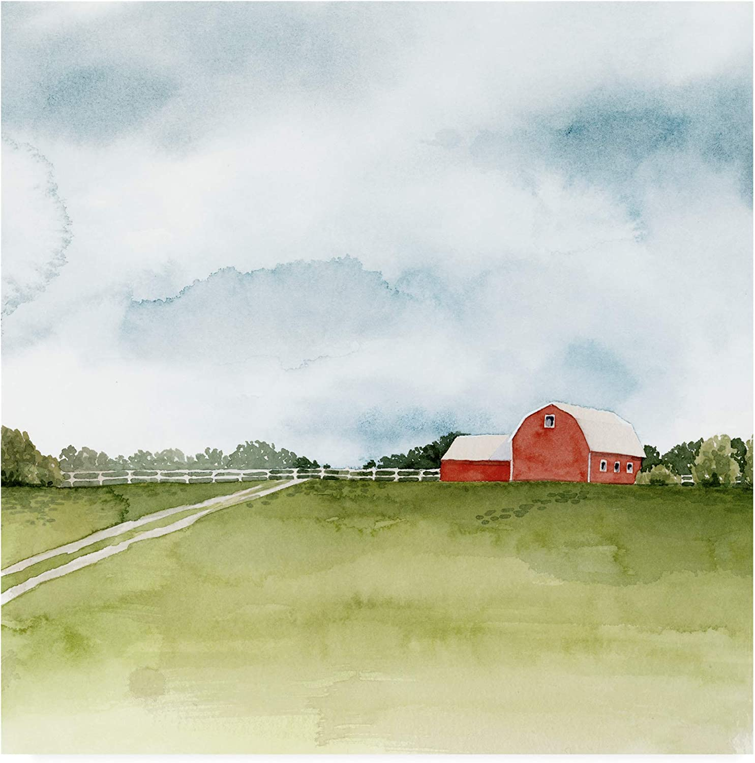 Trademark Fine Art Kentucky Sky II by Grace Popp, 14x14
