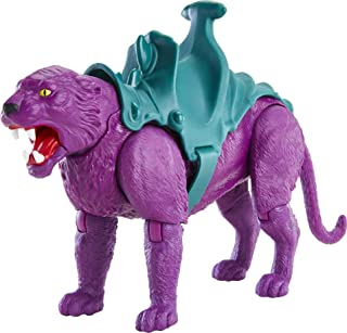 Masters of The Universe Origins Panthor Action Figure, Skeletor's Loyal Panther-Like Beast for Motu Play and Display, for ...