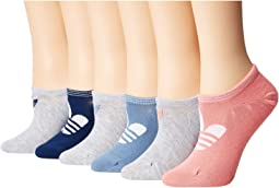 Originals Trefoil Super No Show Socks 6-Pack