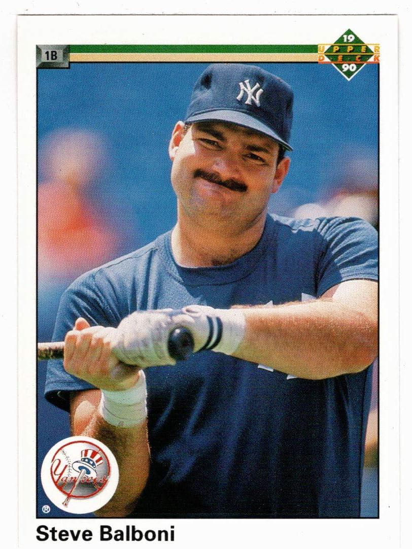 Steve Balboni - Tampa Mall New York Yankees 1990 Card Deck Sacramento Mall Upper Baseball