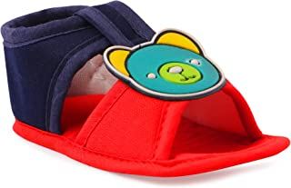 INSTABUYZ Unisex Baby Cotton Infant First Walking Sandal