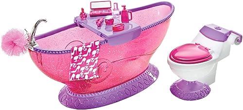 Barbie - T7537 -  Mobilier de Poupée - Mobilier Basique Salle de Bains