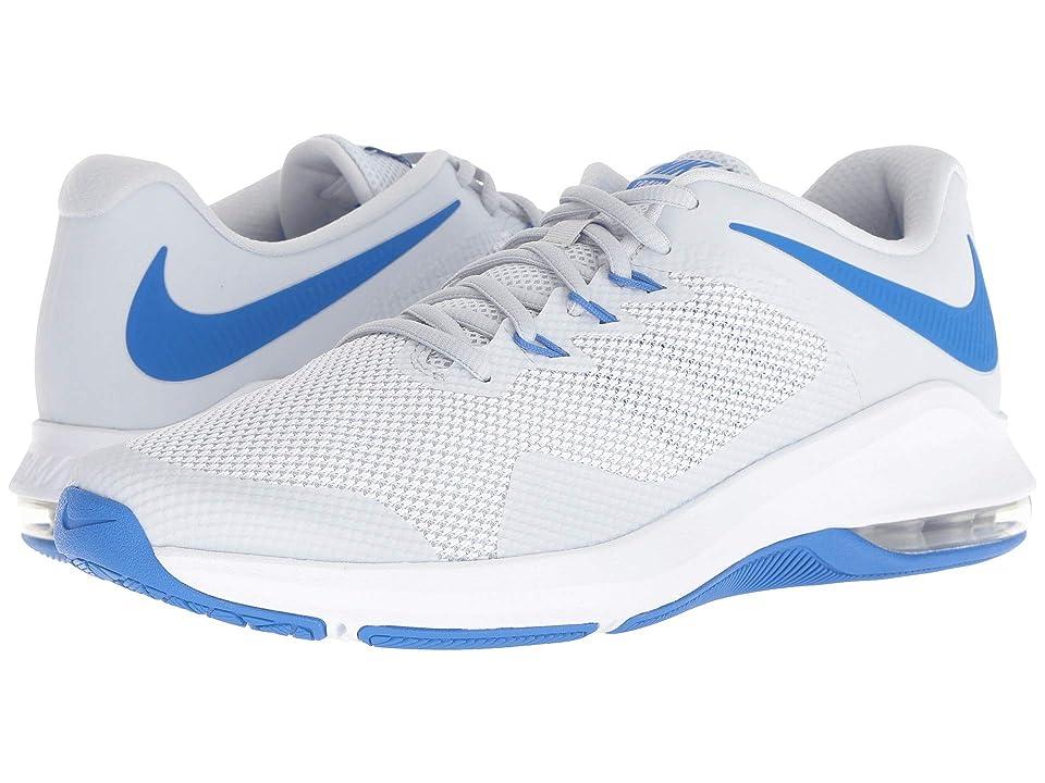 Nike Air Max Alpha Trainer (Pure Platinum/White/Signal Blue) Men