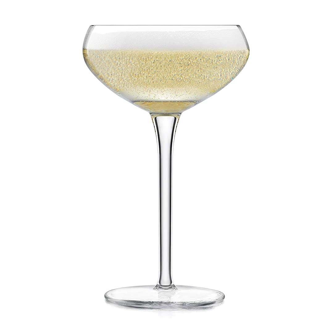 スポンジ困惑したどこにでもLibbey Signature Kentfield Coupe Cocktail Glasses, Set of 4