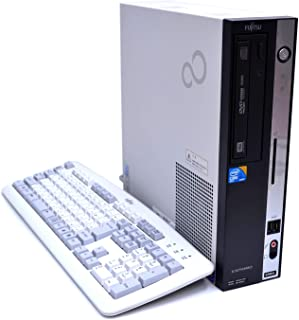 【初期設定済!★中古デスクトップパソコン】富士通 ESPRIMO D750/A Windows7 Core i5 650 3.20GHz メモリ4GB HDD160GB