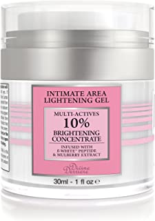 Divine Derriere Intimate Skin Lightening Gel for Body, Face, Bikini and Sensitive Areas - Skin Whitening Cream Contains Mu...