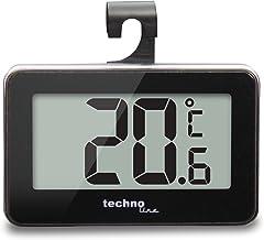 Technoline WS 7012 - Termómetro para nevera, color negro y plateado