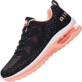 AUPERF Women's Air Running Shoes,Breathable Lightweight Walking Sports Tennis Sneakers