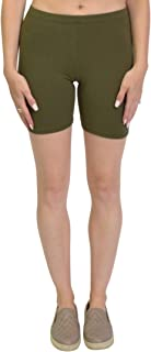 Stretch Is Comfort Bike Shorts for Girls and Women   Women's Athletic Workout Shorts   Cotton   SM-5XL