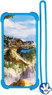Case for Tecno Spark 3 Pro Case Silicone border + PC hard backplane Stand Cover L