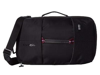 Solo New York Varsity All-Star Backpack Duffel (Black) Duffel Bags