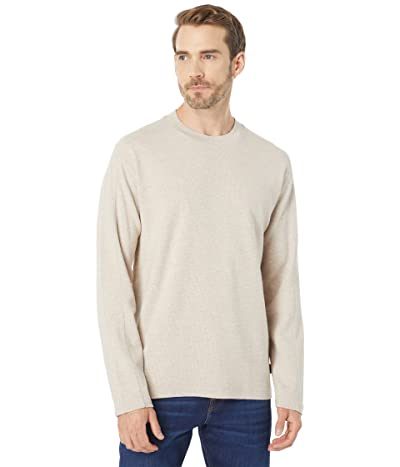 Scotch & Soda Waffle-Structured Organic Cotton Long Sleeve T-Shirt