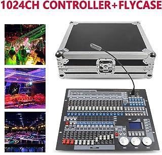1024 Canales Controlador DMX, Consola de Iluminación de Escenario, DMX512 Consola para Controlador de Luz Led para DJ Disco, Equipo DJ para Fiesta