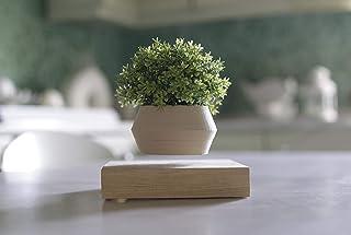 Vaso a levitazione magnetica in legno realizzato a mano con l'utilizzo della stampa 3D - Wood Levitron Vase -
