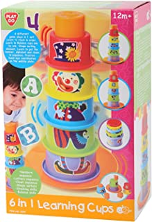 Pla yGo 6 In 1 Lea rning Cups