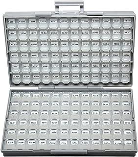 AideTek Sample Resistor Kit Distributed in Box-All Enclosure E96 Serial 0ohm to 1mohm Designer Kit, R02-72